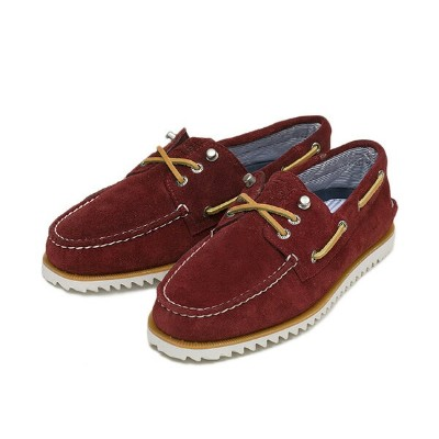 【SPERRY TOP-SIDER】 スペリー トップサイダー RAZOR FISH レイザーフィッシュ STS10408 SP14 BURGUNDY SUEDE