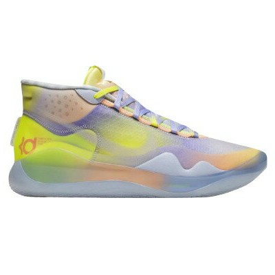 "ナイキ メンズ Nike Zoom KD12 ""EYBL Nike Nationals"" バッシュ Multi/Barely Volt/Orange Pulse ケビンデュラント"
