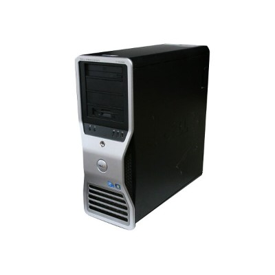 Precision T7500 DELL Xeon X5680 *2/16GB/HDD非搭載/DVD-ROM/3.5インチFDD/Quadro FX580 512MB DP/N:0R784K【中古】