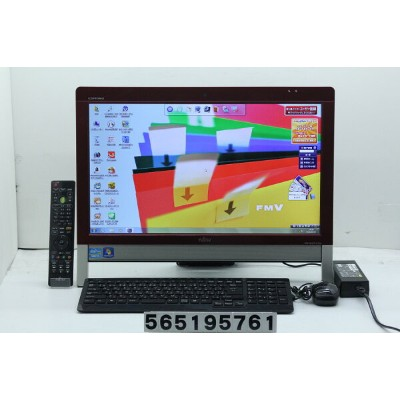 富士通 ESPRIMO FH56/GD Core i7 2670QM 2.2GHz/8GB/2TB/Blu-ray/20W/WXGA++(1600x900)/Win7【中古】【20190524】