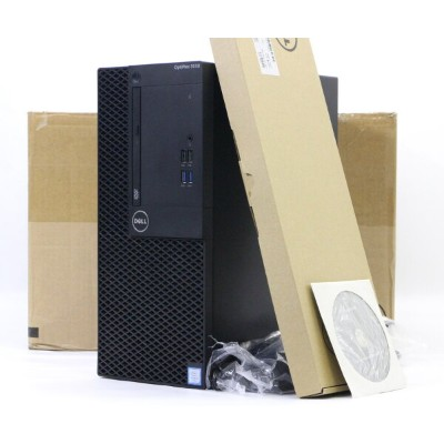 DELL OptiPlex 3050 MT Core i5-7500 3.4GHz 8GB 256GB(SSD) HDMI DisplayPort アナログRGB入力 DVD-ROM...