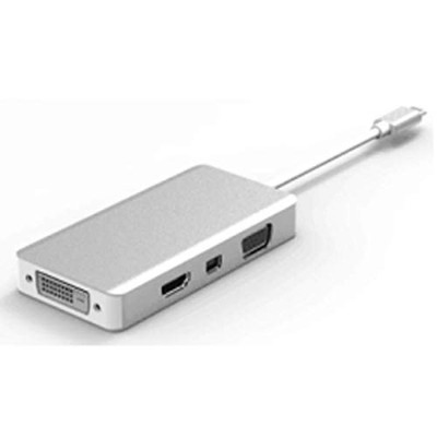 【TSGG】 USB 3.1 Type- C to HDMI_VGA_MINI DP_DVI Adapter USB3.1入力とHDMI_VGA_MINI DP_DVI出力アダプター USB...