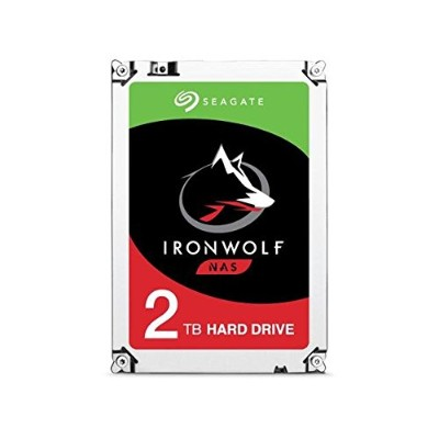 Seagate シーゲイト 内蔵 ハードディスク IronWolf NAS 3.5 インチ 2TB (SATA 6Gb/s / 5900rpm / 64MB ) 大容量 国内正規品 ...