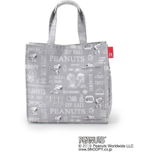 【ITS' DEMO(イッツデモ)】 ROOTOTE PEANUTSミニトート OUTLET > ITS' DEMO > バッグ・財布・小物入れ > トートバッグ グレー