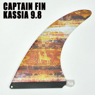CAPTAIN FIN/キャプテンフィン KASSIA MEADOR/カシアミーダー TIE DIE RED 9.8 ロングボード用フィン ボックスフィン/センターフィン/サーフボード用フィン