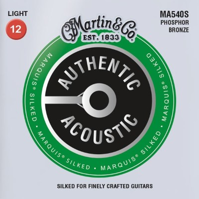 MARTIN AUTHENTIC ACOUSTIC MARQUIS SILKED 92/8 Phosphor Bronze MA540S [Light/12-54]