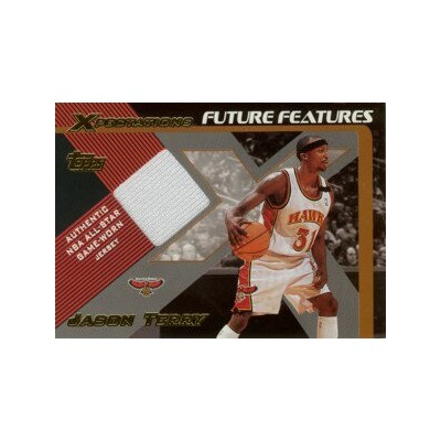 【ジェイソン テリー】2001/02 Topps Xpectations Future Features Jersey /Jason Terry