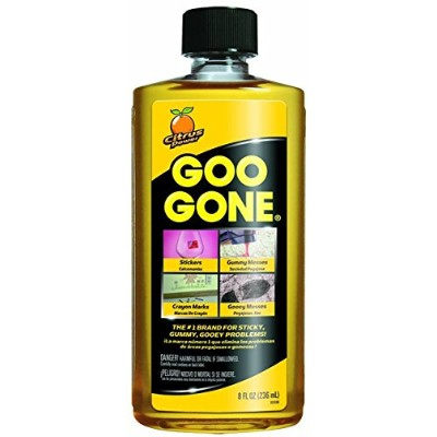 Goo テつGone Original Liquid - Surface Safe Adhesive Remover - Safely removes Stickers, Labels,...