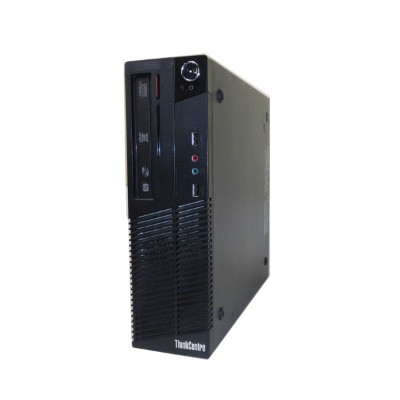 Lenovo ThinkCentre M70e Small 0804-E8J【中古】Core2Duo E7500 2.93GHz/2GB/320GB/DVDマルチ【Windows7-Pro...