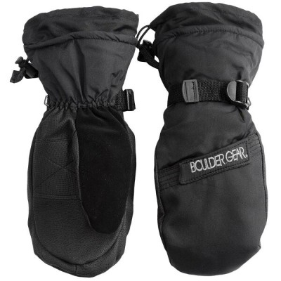 ボルダーギア Boulder Gear メンズ スキー・スノーボード グローブ【Gear Board Snow Mittens - Waterproof, Insulated】Black