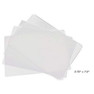 """4 ALAZCOクリア柔軟なカッティングボード5.75 """" X 7.5 """" Small forバーcounter-top Chopping Mats forフルーツ&野菜Appetizer..."""