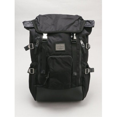 ADPOSION ADPOSION/(M)【MAKAVELIC/マキャベリック】SIERRA DOUBLEBELT BACKPACK テットオム バッグ リュック/バックパック ブラック【送料無料】