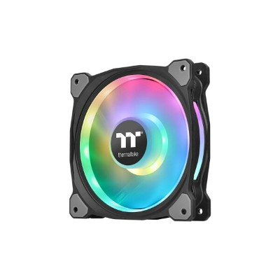 Thermaltake CL-F073-PL12SW-A Riing Duo PLUS 12 RGB Radiator Fan TT Premium Edition -3Pack-...