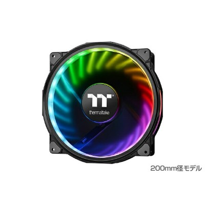 Thermaltake CL-F069-PL20SW-A Riing Plus 20 RGB Radiator Fan TT Premium Edition With Controller...