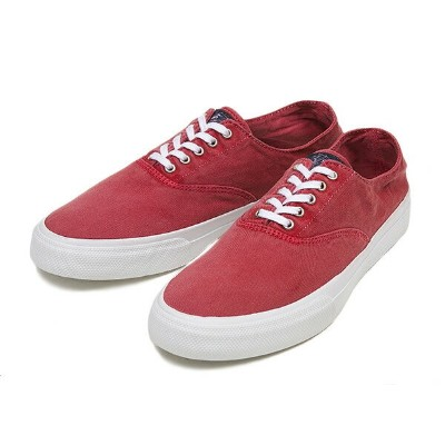 【SPERRY TOP-SIDER】 スペリー トップサイダー CVO COLORWASH STS10974 RED