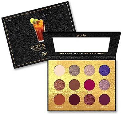 RUDE? Cocktail Party 12 Color Eyeshadow Palette - Dirty Mother (並行輸入品)