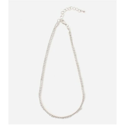 AZUL by moussy BALLCHAINNECKLACE/ボールチェーンネックレス アズールバイマウジー アクセサリー