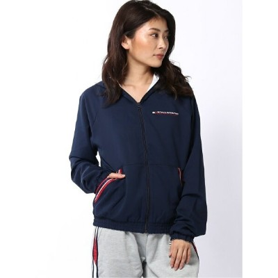 【SALE/50%OFF】TOMMY SPORT (W)TOMMY HILFIGER(トミーヒルフィガー) REVERSIBLE JACKET WITH HOOD トミーヒルフィガー スポーツ/水着...