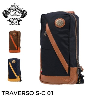 orobianco オロビアンコ ボデイバッグ MADE IN ITALY メーカー取寄せ バッグ ビジネス バック TRAVERSO S-C 01 orobianco-90450