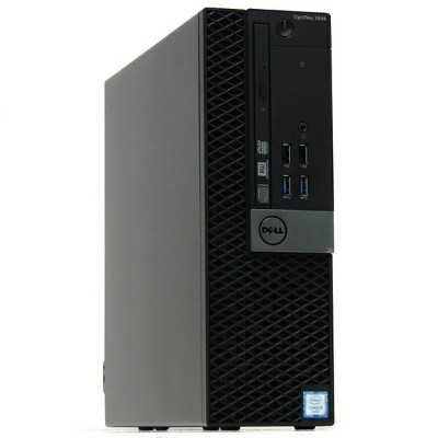 【中古】大容量SSD搭載 DELL デル OPTIPLEX 3046 SFF Core i5 6500 3.2GHz 8GB 480GB Windows10 LibreOffice DVD...