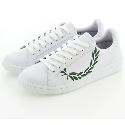 B721 PRINTED LAUREL LEATHER/フレッドペリー(メンズ)(FRED PERRY)