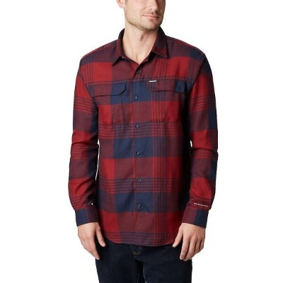 コロンビア Columbia メンズ ハイキング・登山 トップス【Silver Ridge 2.0 Flannel Shirt】Columbia Navy Buffalo Plaid