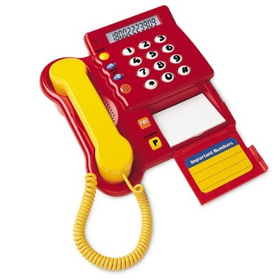 Learning Resources Teaching Telephone 「汎用品」(海外取寄せ品)
