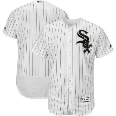 マジェスティック Majestic メンズ トップス 【authentic chicago white sox home white flex base on-field jersey】