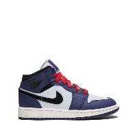 Nike Kids Air Jordan 1 MID SE GS スニーカー - ブルー