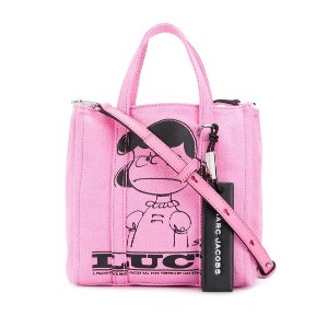 Marc Jacobs Peanuts® x Marc Jacobs The Tag tote with Lucy バッグ - ピンク