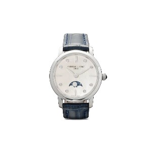 Frédérique Constant スリムライン ムーンフェイズ レディース 30mm - WHITE