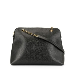 Chanel Pre-Owned ココマーク トートバッグ - ブラック