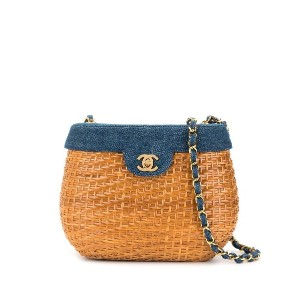Chanel Pre-Owned チェーン ショルダーバッグ - ブラウン