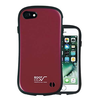 【iPhone7】ROOT×iFace Gravity Shock Resist Case ワイン