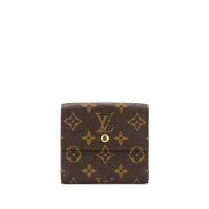 Louis Vuitton Pre-Owned モノグラム フラップ財布 - ブラウン