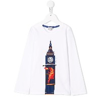 Paul Smith Junior Big Ben Tシャツ - ホワイト