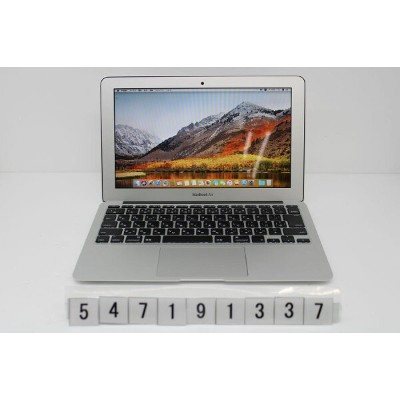 Apple MacBook Air A1465 Mid 2013 Core i5 4250U 1.3GHz/4GB/128GB(SSD)/11.6W/FWXGA(1366x768)【中古】...