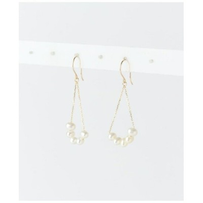 【SALE/10%OFF】URBAN RESEARCH colette淡水パールピアス アーバンリサーチ アクセサリー ピアス ベージュ【送料無料】