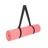 Bags For Less ヨガマット Yoga Mat with Carrying Sling Eco Friendly Yoga Mat With Extra Thickness Mat for...