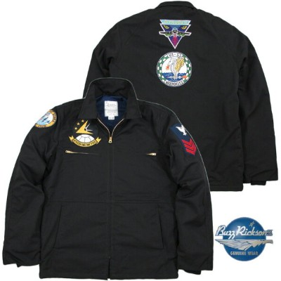 "BUZZ RICKSON'S/バズリクソンズ Jacket, Utility, Man's Blue Type UTILITY JACKET/ユーティリティージャケット""BUZZ RICKSON..."