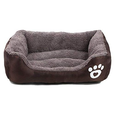 AsFrost Dog Bed, Super Soft Pet Sofa Cats Bed, Non Slip Bottom Pet Lounger,Self Warming and...