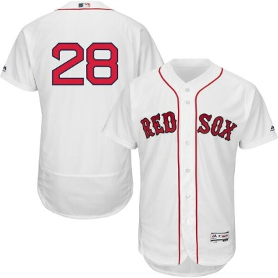 マジェスティック Majestic メンズ トップス 【authentic boston red sox j.d. martinez #28 flex base home white on...