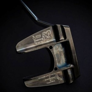 Kronos Golf Kampe Refined PVD Carbon Putter【ゴルフ ゴルフクラブ>パター】