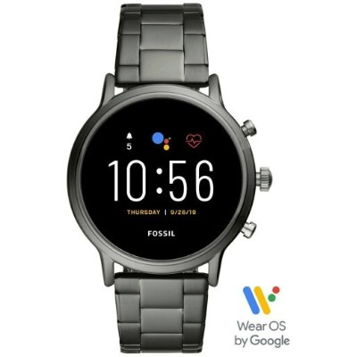 FOSSIL SMARTWATCH THE CARLYLE HR SMARTWATCH フォッシル ファッショングッズ 腕時計 グレー【送料無料】