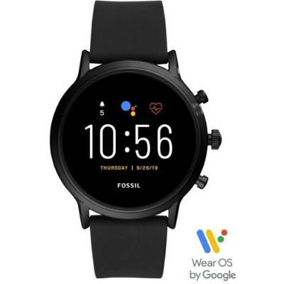 【SALE/30%OFF】FOSSIL SMARTWATCH THE CARLYLE HR SMARTWATCH フォッシル ファッショングッズ 腕時計 ブラック【送料無料】