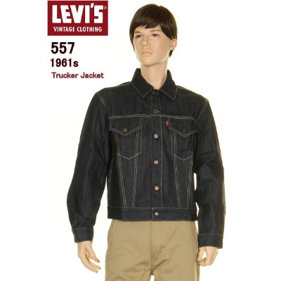 LEVI'S VINTAGE CLOTHING 1961 74998-0001 リーバイス 557 ヴィンテージクロージング TIPE3 MADE IN THE WORLD【LEVIS 557 新品...
