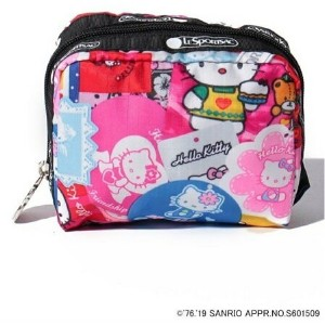 LeSportsac (W)(公式)ポーチ/ 6701 G631 レスポートサック バッグ ポーチ ピンク