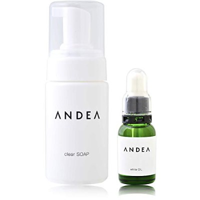 ANDEA デリケートゾーン ソープ 黒ずみ 石鹸 美白 clearSOAP&whiteOILケアセット