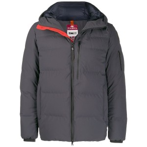Parajumpers panelled padded jacket - グレー
