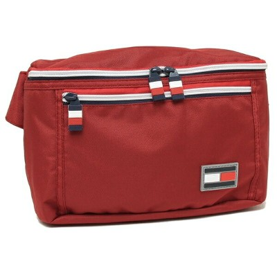 TOMMY HILFIGER ウエストバッグ メンズ レディース トミーヒルフィガー TC090CI9 TOMMY RED レッド